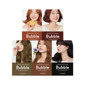 etude house,hot style bubble hair coloring